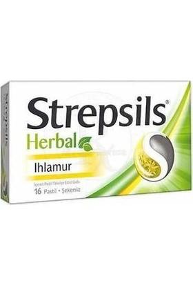 Strepsils Herbal Ihlamur Boğaz Pastili SKT:10/2021