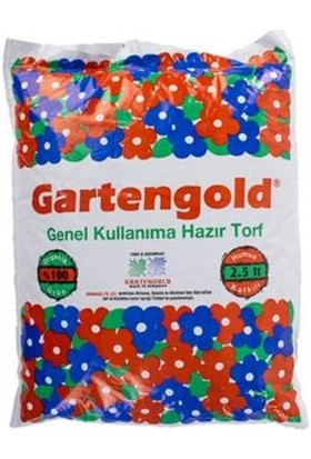 Gartengold Orkide Toprağı Torflu Karışım 2,5 lt