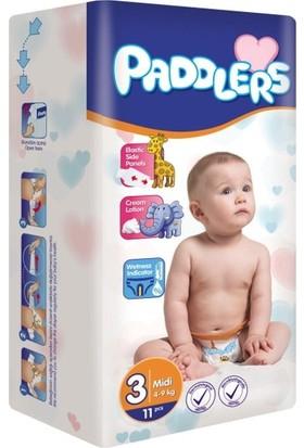 Paddlers 3 Numara Midi 11 Adet (4-9 kg) Deneme Paketi