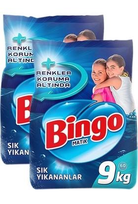 Bingo Matik Ekonomik Paket 9 kg 2 Adet