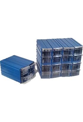 Sembol Y114 Plastik Çekmeceli Kutu 20 Çekmeceli