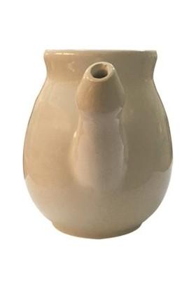 Biostore Seramik Nazal Pot Burun Temizleme Aparatı Beyaz