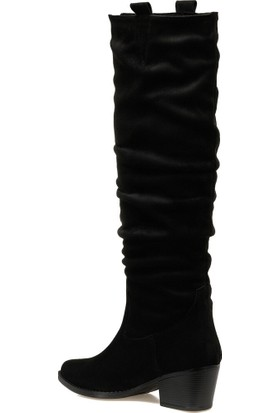 Butigo 19Kf-222 Siyah Kadın Çizme