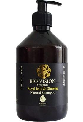 Bio Vision Organik Arı Sütüginseng Şampuan 500 ml