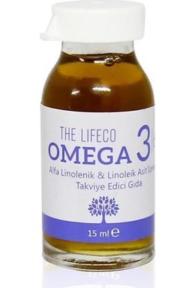 The Lifeco Omega 3|6 Bitkisel Yağ Karışımı 16 Shot 240 ml