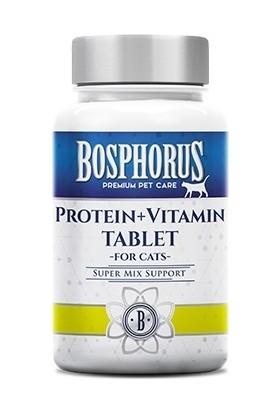 Bosphorus Kediler İçin Protein + Vitamin Tablet 60 Adet