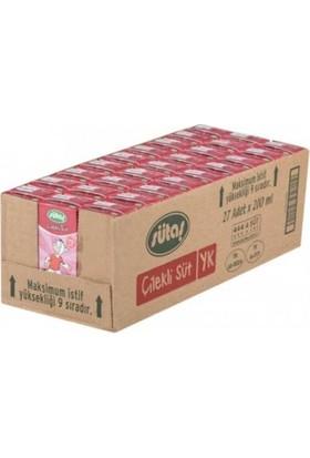 Sütaş Çilekli Süt 180 ml 27'li