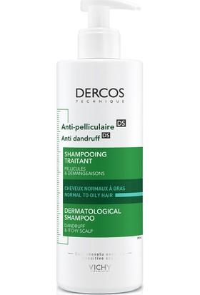 Vichy Dercos Kepeğe Karşı Etkili Bakım Şampuanı (Normal/Yağlı Saçlar İçin) 390 Ml