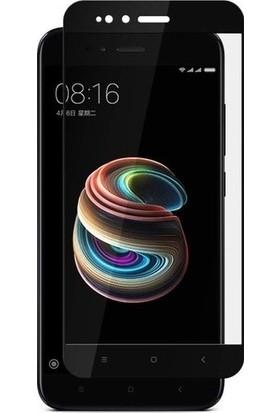 Casestore Xiaomi Mi 5X 5D Fiber Nano Ekran Koruyucu Cam - Siyah