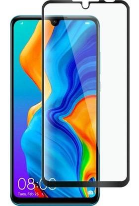 Casestore Huawei Nova 4e 5D Tam Kaplayan Cam - Siyah