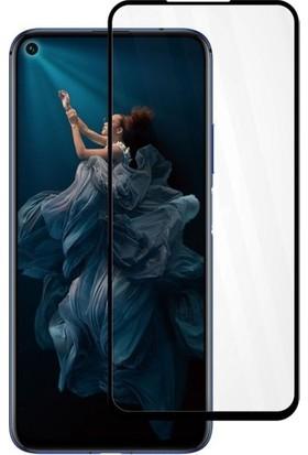 Casestore Huawei Honor 5T Pro Full Koruma Tam Kaplayan Ekran Koruyucu Cam - Siyah