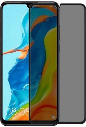 Casestore Huawei Nova 4e 5D Gizlilik Filtreli Hayalet Cam - Siyah