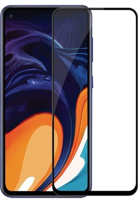 Casestore Samsung Galaxy A60 5D Fiber Nano Ekran Koruyucu Cam - Siyah
