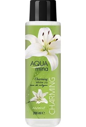 Allymina Aquamina Beyaz Zambak Kolonya 200 ml