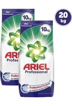 Ariel Professional Toz Çamaşır Deterjanı 10 kg 2'li