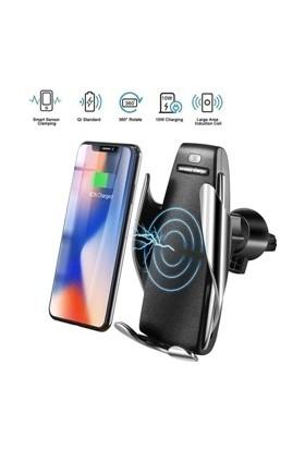 Vip Paket Smart S6 Sensörlü Araç Içi Tutacak Wireless Şarj Cihazı