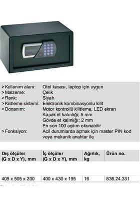 Hafele August Dijital Elektronik Şifreli Çelik Kasa