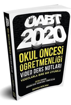 Benim Hocam Yayınları 2020 ÖABT Okul Öncesi Öğretmenliği Video Ders Notları