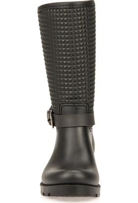 Uniquer Kadın Yağmur Çizmesi 93302 1002 Siyah