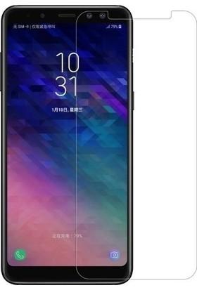 Ehr. Samsung Galaxy A8 Plus 2018 Ekran Koruyucu Cam - Şeffaf