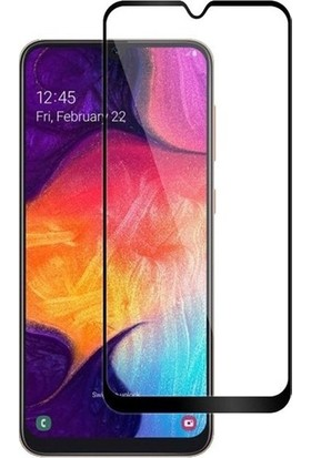 Ehr. Samsung Galaxy A40 5D Fiber Nano Ekran Koruyucu Cam - Siyah