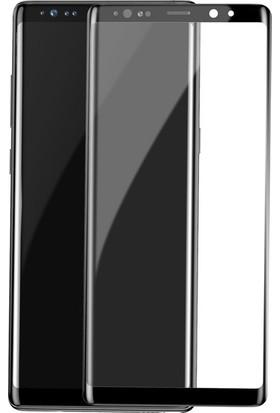 Ehr. Samsung Galaxy Note 9 5D Fiber Nano Ekran Koruyucu Cam - Siyah