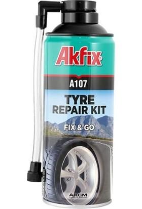 Akfix A107 Oto Lastik Tamir Etme Şişirme Spreyi Tekli