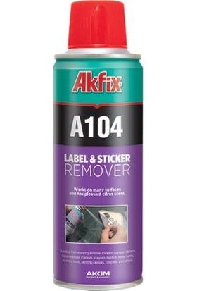 Akfix A104 Etiket Sökücü Sprey Tekli