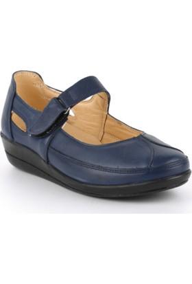 Healthy Walk İç Dış Hakiki Deri Diyabetik Ve Ortopedik Ayakkabı 35