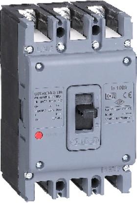 Günsan Kompakt Şalter (Sabit Tip) 3 Kutup 160A GHF3250-335160