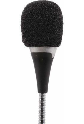 Coverzone 3.5 mm Mini Ses Kayıt Mikrofonu 18 cm
