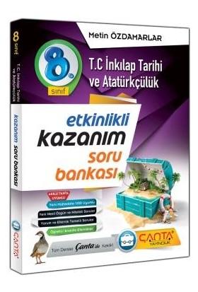 Çanta Yayınları 8. Sınıf Inkılap Tarihi ve Atatürkçülük Kazanım Odaklı 2020 Soru Bankası