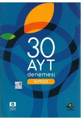 Endemik Yayınları AYT Kimya 30 Deneme