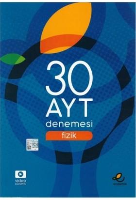 Endemik Yayınları AYT Fizik 30 Deneme