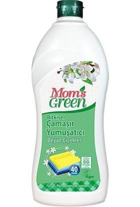 Mom's Green Bitkisel Çamaşır Yumuşatıcı Beyaz Çiçekler