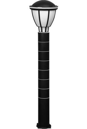 Zita Bahçe Aydınlatma Kupa Armatür 80 cm Siyah Uzun Ip54