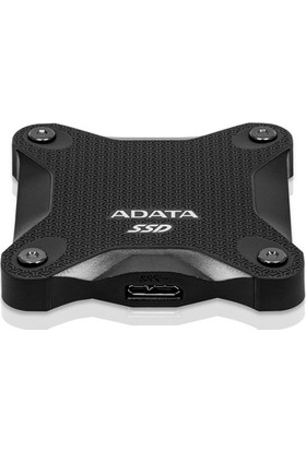 Adata SD600Q 480GB 440MB-440MB/s USB 3.1 Taşınabilir SSD ASD600Q-480GU31-CBK