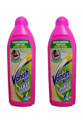 Vanish Kosla Halı Şampuanı 850 ml 2'li Set