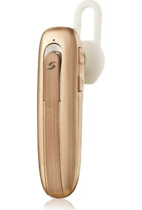 Soultech Colorful Kablosuz Kulakiçi Bluetooth Kulaklık Gold