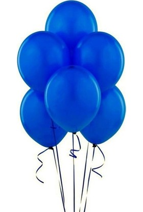 Datapos Metalik Koyu Mavi - Lacivert Balon 15 Adet