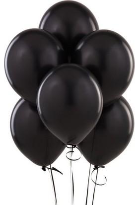 Datapos Metalik Siyah Balon 25 Adet