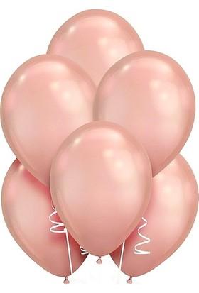 Datapos Metalik Rose Gold Balon 10 Adet