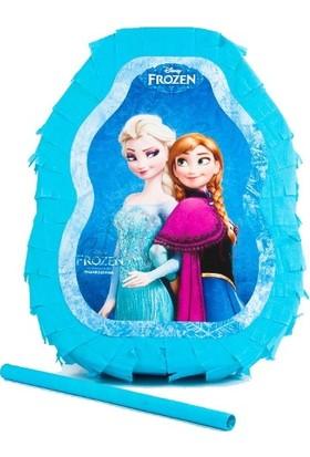 Datapos Frozen Elsa Karlar Ülkesi Pinyata + Sopa Hediye