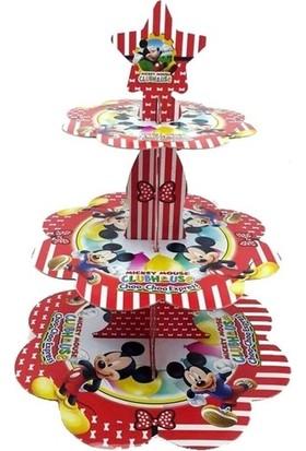 Datapos Mickey Mouse Cupcake Kek Standı