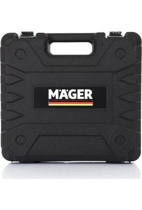 Mager Tools Turbo 24V5AH Turbo X2 Li-Ion Çift Akülü Profesyonel Vidalama Şarjlı Darbesiz Matkap