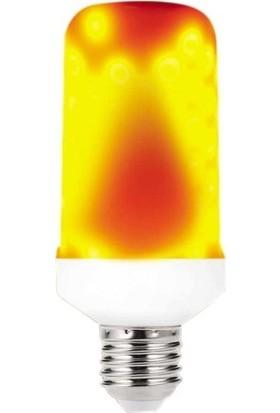 Led Pazarı Alev Efektli LED Ampul 6 W Sarı