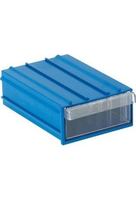 Sembol 202 Plastik Çekmeceli Kutu 7,7 x 11,7 x 3,6 cm 10'lu