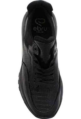 Ebru Şallı Siyah 36 Numara Sneaker