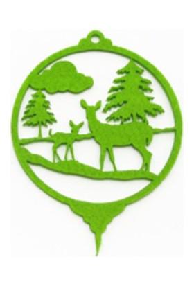 Didideko Keçe Yılbaşı Ağaç Süsü