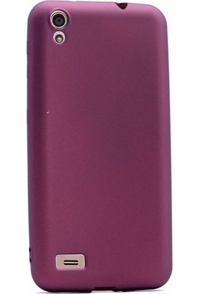 Case Street Vestel Venus V3 5000 Kılıf Premier Silikon Kılıf + Nano + Kalem Mürdüm